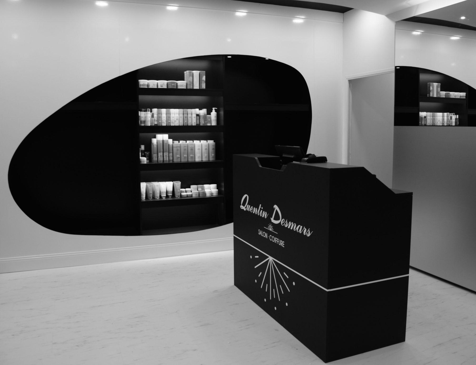 Salon Quentin Desmars | coiffeur Angers